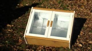 DIY Solar Oven from Recycled Materials on the cheap