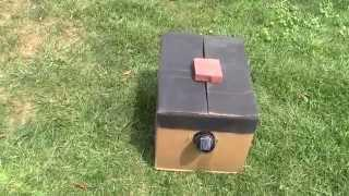 EASY & Inexpensive Solar Dehydrator- Off Grid Cardboad Box Style (QTT #12)