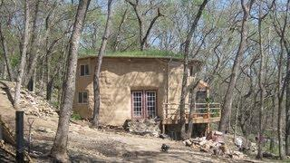 Off The Grid in Kansas In A Straw Bale House III