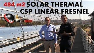 SOLAR SYSTEM - MTN Linear Fresnel Solar Thermal Absorption Cooling System in South Africa