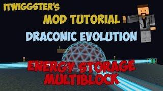 Draconic Evolution - Energy Storage Multiblock