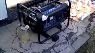 Generator running only on ultrasonic gasoline mist