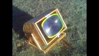 Solar oven in a day.