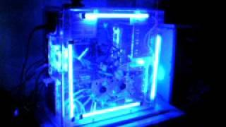 sound activated cold cathodes lights acrylic case pc