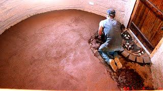 Weekly Peek  |  Earth Bag Construction Ep 17 | Install Earthen, Cob Floor