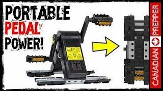 Portable Pedal Power Generator! K-Tor PowerBox  | Canadian Prepper