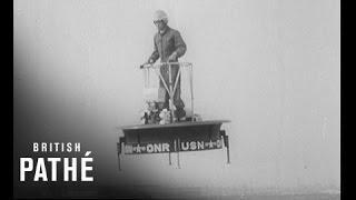 First Flying Platform - 1955 Hover Board