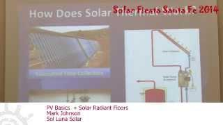 PV Basics + Solar Radiant Floors - Mark Johnson