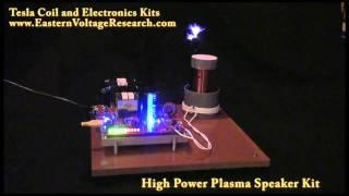 Loudest Plasma Speaker - Class-E Audio Modulated Tesla Coil