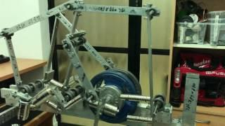 Incomplete Flywheel Energy Storage Unsupported Unbreakable Magnets Machine Built By Oren Gertel