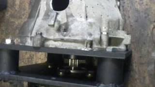 BMW EV conversion 02 motor and gearbox run