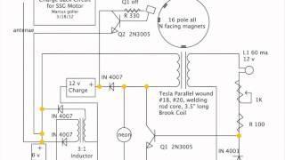Charge Back Circuit - Bedini Motor