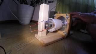 Tesla turbine micro-generator | experiment 1