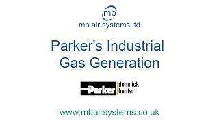 Parker's Industrial Gas Generation / Nitrogen Generation