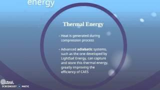 ETP: Compressed Air Energy Storage