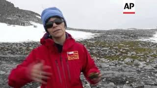 """Scientists tracking the """"unstoppable"""" ice melt in Antarctica"""