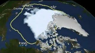 Record-setting ice melt in Arctic