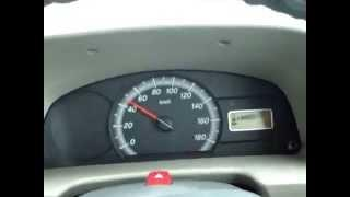 Maruti Eeco Average 24 KMPL with GIRIRAJ H2o Kit / hho car kit.wmv