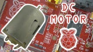 Controlling a DC Motor with the Raspberry Pi