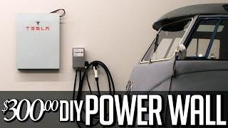 $300 DIY Tesla Powerwall -  Solar storage lithium Battery