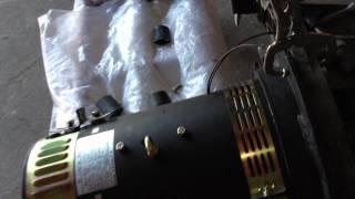 EV Conversion Guide Part 13 -------- Electric Motor & Adapter Plate-- Motor Balance Test 7.MOV