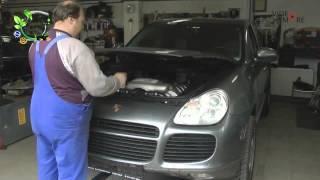 SÁSKA HHO im Porsche Cayenne