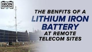 System Spotlight: Saddle Hills Telecom Lithium Solar Battery