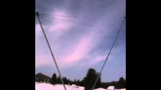 900w wind Turbine setup and raising tower 2. hawt, vawt, green. energy,