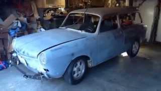 VW electric vehicle EV conversion. Type 3 squareback 1971