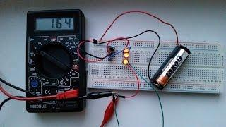 Voltage step up converter or Joule Thief circuit