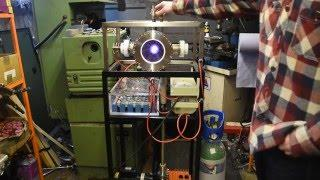 Nuclear Fusor running on Argon