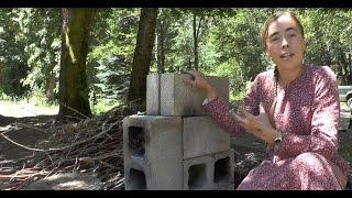 Improved Rocket Stove - Cinder Blocks EASY!