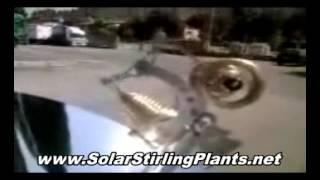 Solar Stirling Generator Construction. Build Stirling Machine That Will Power Up Your Home For Free