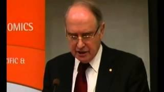 Ross Garnaut on the costs and benefits of climate change mitigation. ANU