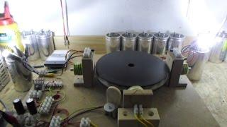 Pulse Motor - Generator Update 1, Speeding up under load with 2 coils...
