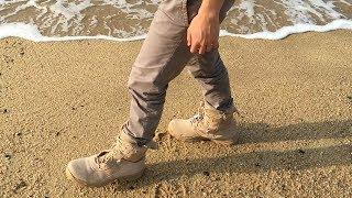 Energy Harvesting Combat Boot with GPS
