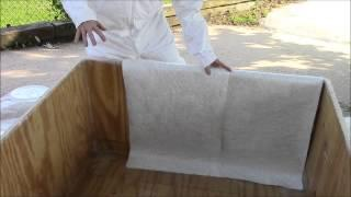 How to Make a Fiberglass Pool Liner