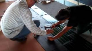 Factory Solar Roof Shingle