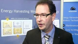 Energy Harvesting Wireless Sensor Technology from EnOcean - at  Electronica 2010