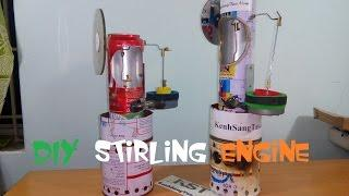 [Tutorial] How To Make stirling engine, very simple