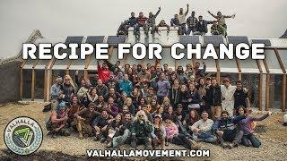 Recipe For Change || Ushuaia Off Grid Earthship Build (DOCUMENTARY) Garbage Warrior Michael Reynolds