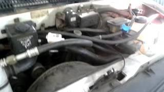 Fuel vaporizer installed on a 1990 Chevy Astro, 4.3 gasoline engine
