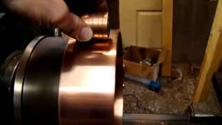 Searl Effect Generator Roller replica in Paramagnetic levitation