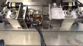 Linear Generator Powering LEDs