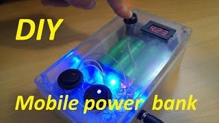 External battery charger DIY Advanced - Mobile power bank