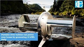Portable river turbine can power your house by generating 12 kWh daily