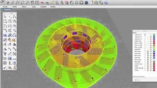 Printable Perendev Magnet Motor Design