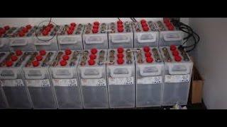 Testing Edison nickel cadmium batteries 240 AH To Find My Best 10