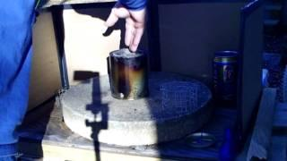 Home Made Bushwacker Wood-gas Stove