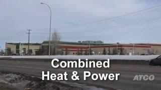 ATCO Combined Heat & Power (CHP) - Collicutt Centre, Red Deer, AB
